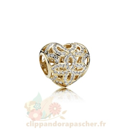 Discount Pandora Pandora Collections Amour Appreciation Charme Clear Cz 14K Or