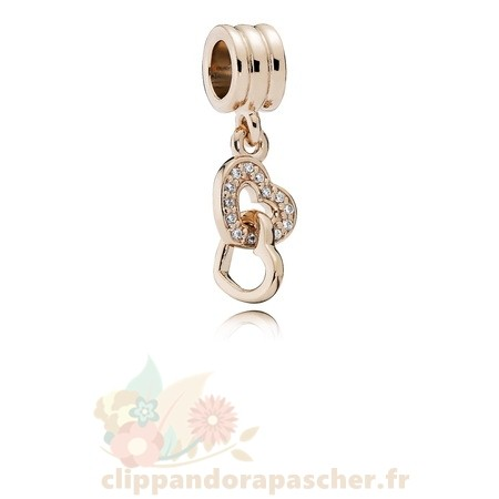 Discount Pandora Pandora Symboles De Amour Charms Enclenchement Amour Dangle Charm Pandora Rose Cz