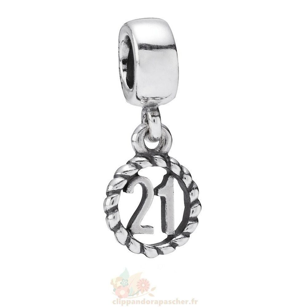 Discount Pandora 21Eme Anniversaire Dangle Charme