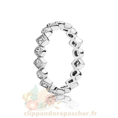 Discount Pandora Pandora Bagues Alluring Brilliant Princesse Empilable Bague Cz