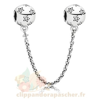 Discount Pandora Pandora Chaines De Securite Pandora 925 Etoile Safety Chain