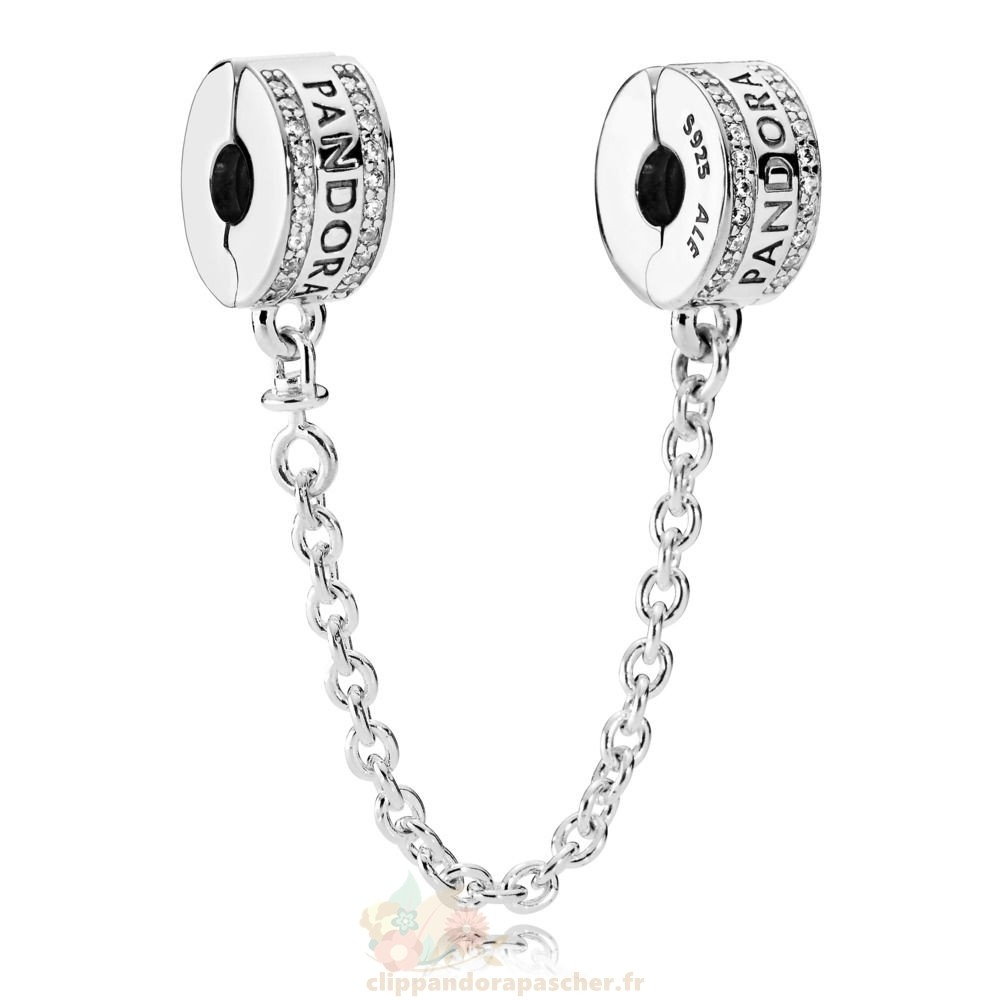 Discount Pandora Pandora Chaines De Securite Pandora 925 Safety Chain Logo