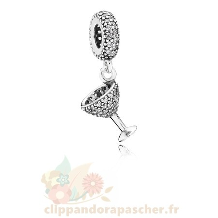 Discount Pandora Pandora Passions Charms Chic Charme Nuit Dangle Charm Clear Cz