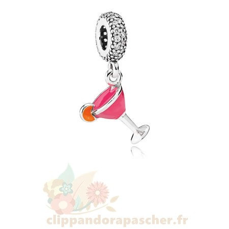 Discount Pandora Pandora Passions Charms Chic Glamour Fruite Cocktail Charm Mixed Email Clear Cz
