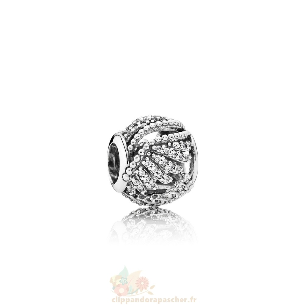Discount Pandora Pandora Passions Charms Chic Glamour Majestic Plumes Clear Cz