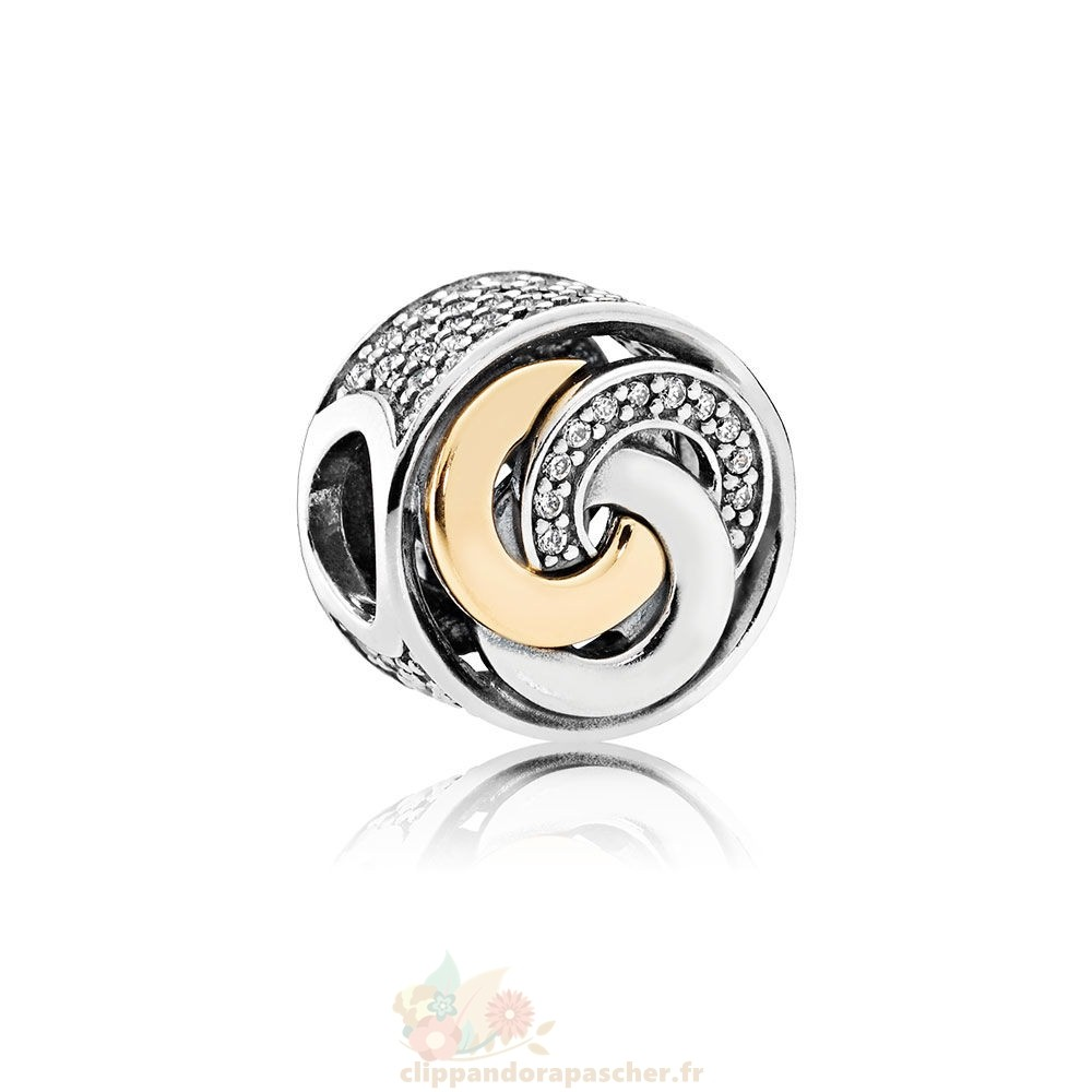 Discount Pandora Contemporains Cercles Inter Charme Clear Cz