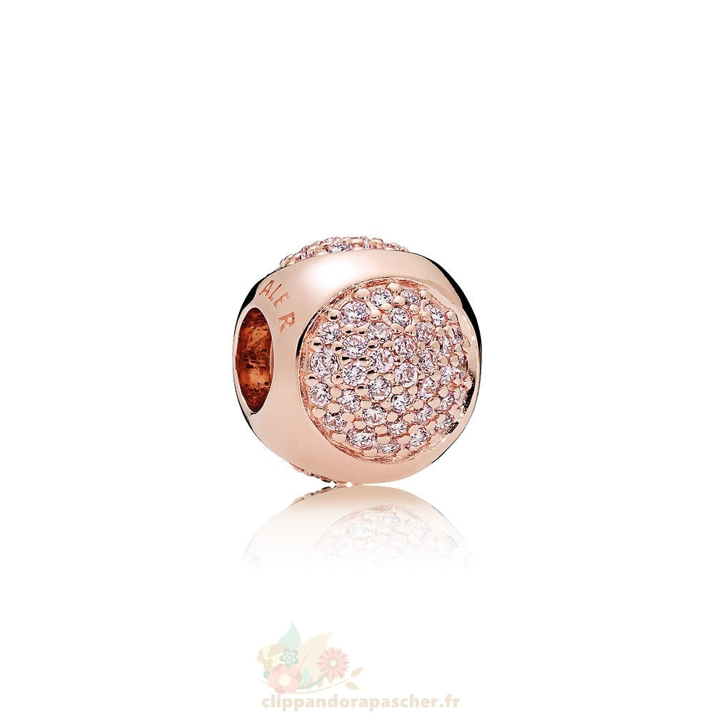 Discount Pandora Pandora Charms Contemporains Breloque Droplet Charmante Pandora Rose Rose Cz