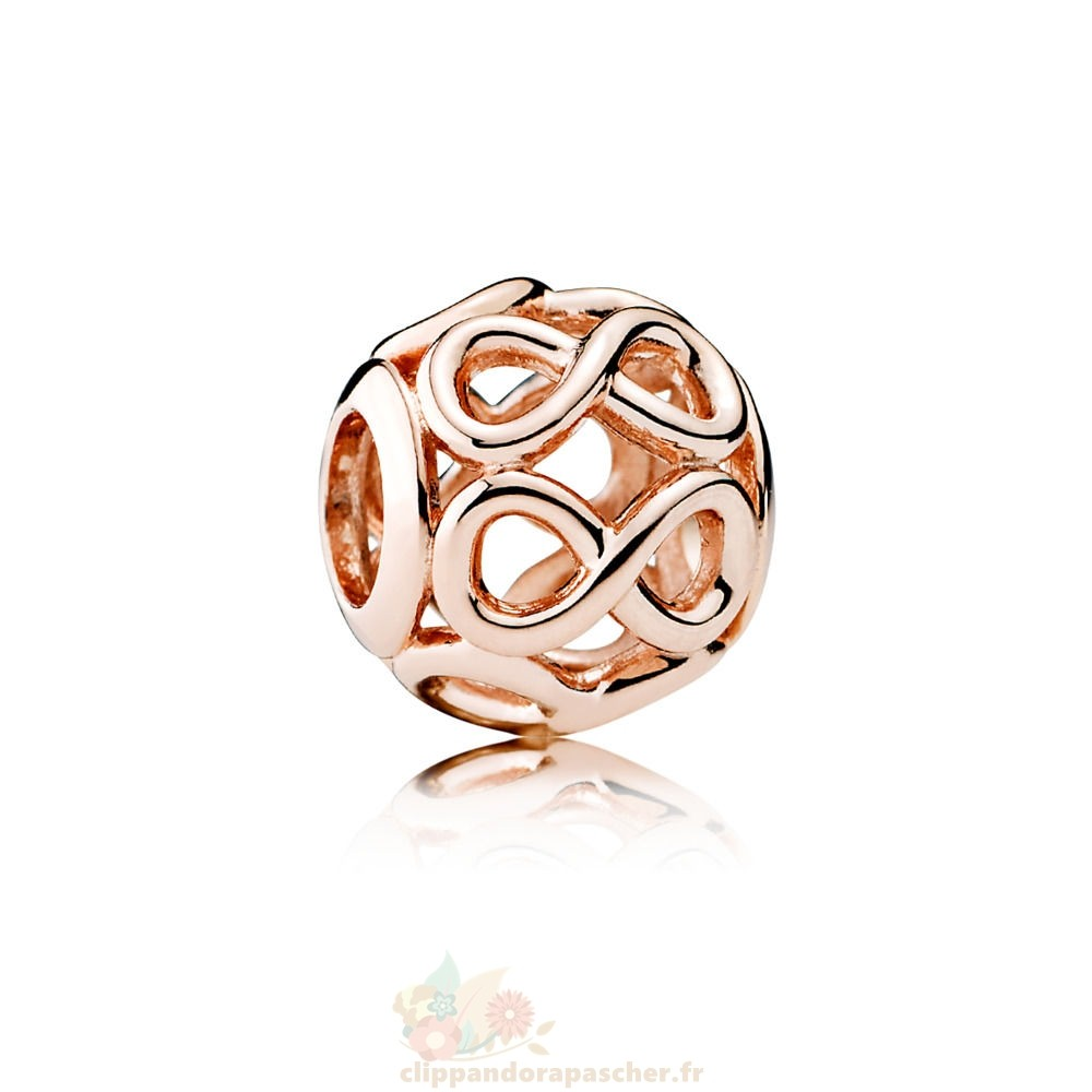 Discount Pandora Pandora Charms Contemporains Breloque Infinie Pandora Rose