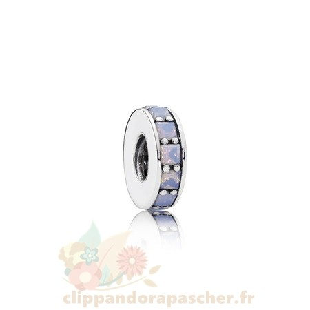 Discount Pandora Pandora Entretoises Charms Eternity Spacer Opalescent Blanc Crystal
