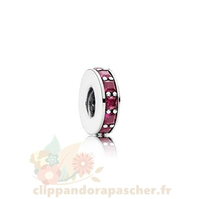 Discount Pandora Pandora Espaceurs Charms Eternity Spacer Synthetic Ruby