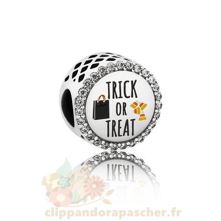 Discount Pandora Pandora Vacances Charms Halloween Trick Or Treat Charm Mixed Email Clear Cz