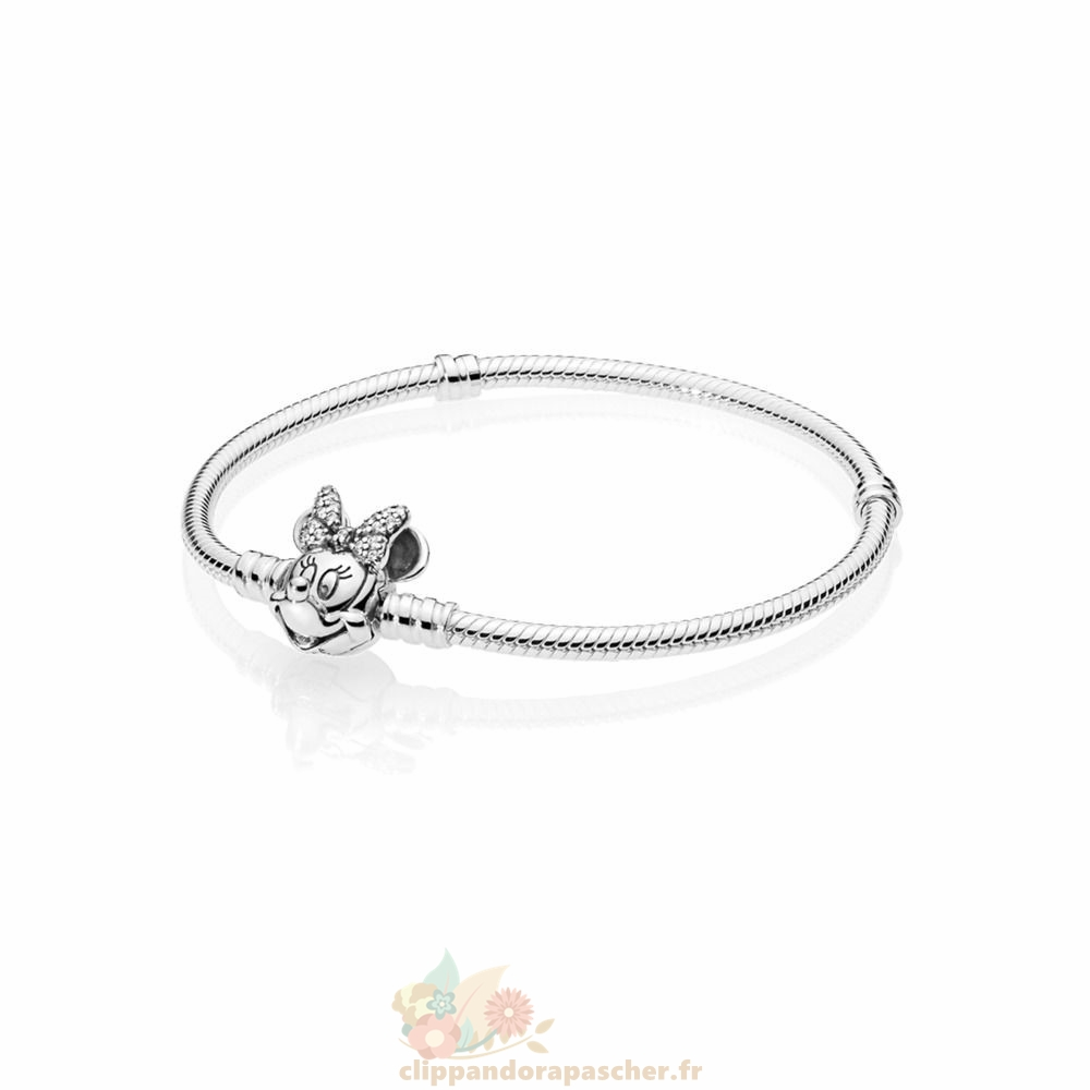 Discount Pandora Disney Portrait Chatoyant De Minnie Moments Bracelets