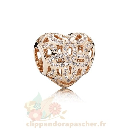 Discount Pandora Amour Appreciation Charme Pandora Rose Clear Cz