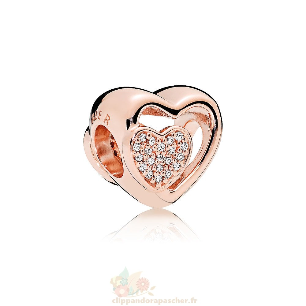 Discount Pandora Pandora Join Ensemble Charme Rose Clear Cz