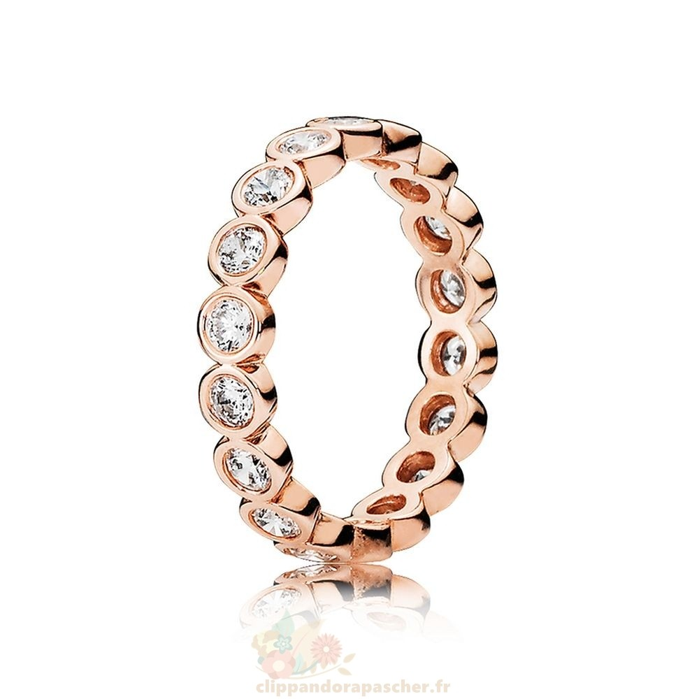 Discount Pandora Pandora Rose Alluring Brillant Bagues Clear Cz
