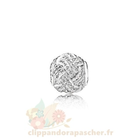 Discount Pandora Essence Relation Amicale Charme Clear Cz