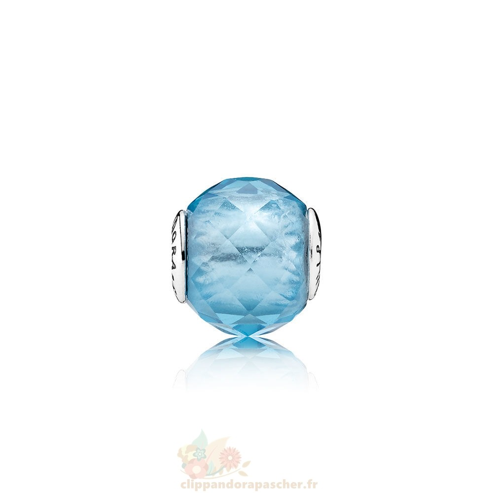 Discount Pandora Essence Relation Amicale Charme Sky Blue Crystal