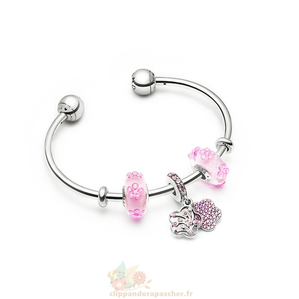Discount Pandora Flowering Sometimes Bracelets