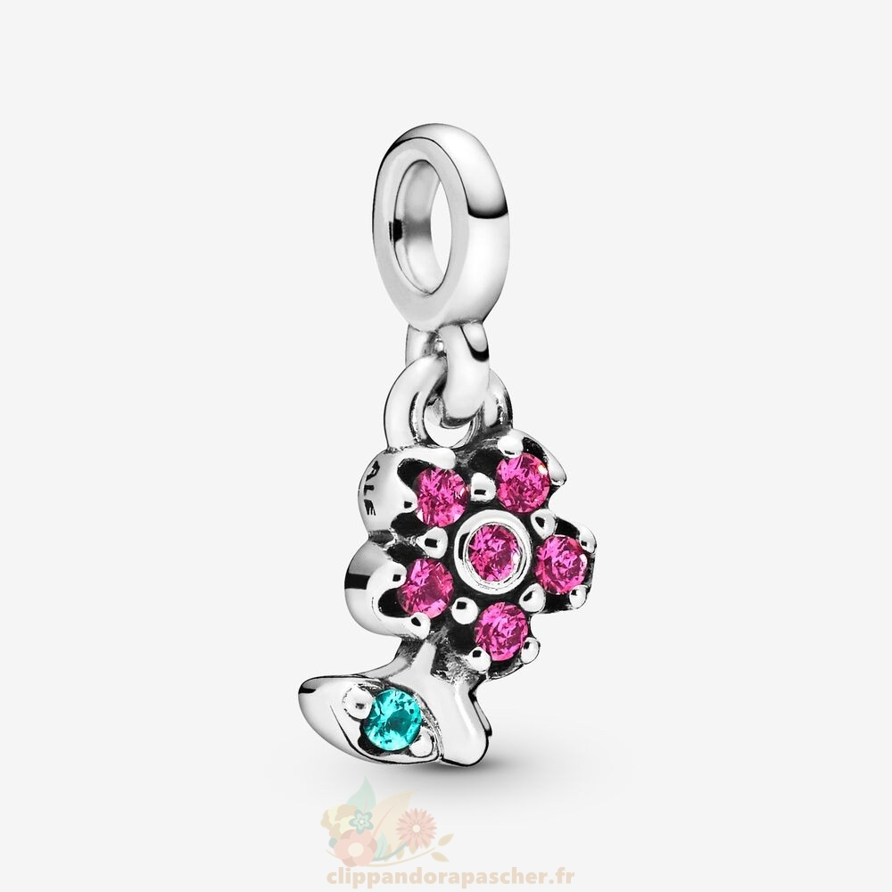 Discount Pandora Ma Jolie Fleur Dangle Charme