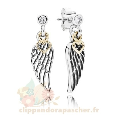 Discount Pandora Boucles D'Oreilles Amour Guidance Drop Clear Cz