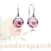 Discount Pandora Boucles D'Oreilles Morning Dew Drop Rose Cz