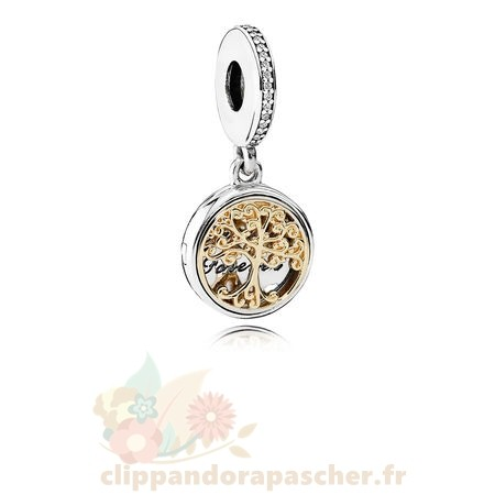 Discount Pandora Dangle Charms Famille Roots Clear Cz