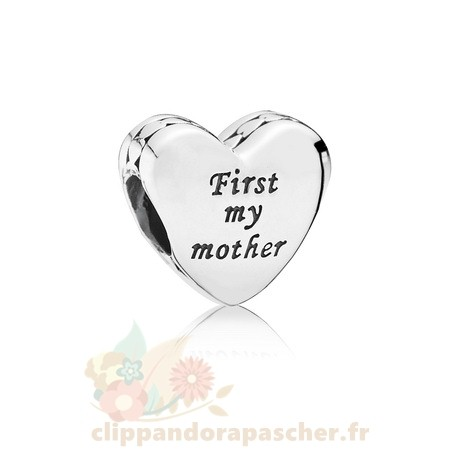 Discount Pandora Mother Friend Engraved Heart Charm