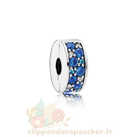 Discount Pandora Pandora Paillettes Paves Charms Mosaique Brillant Elegance Clip Multi Coloured Cristaux Clear Cz