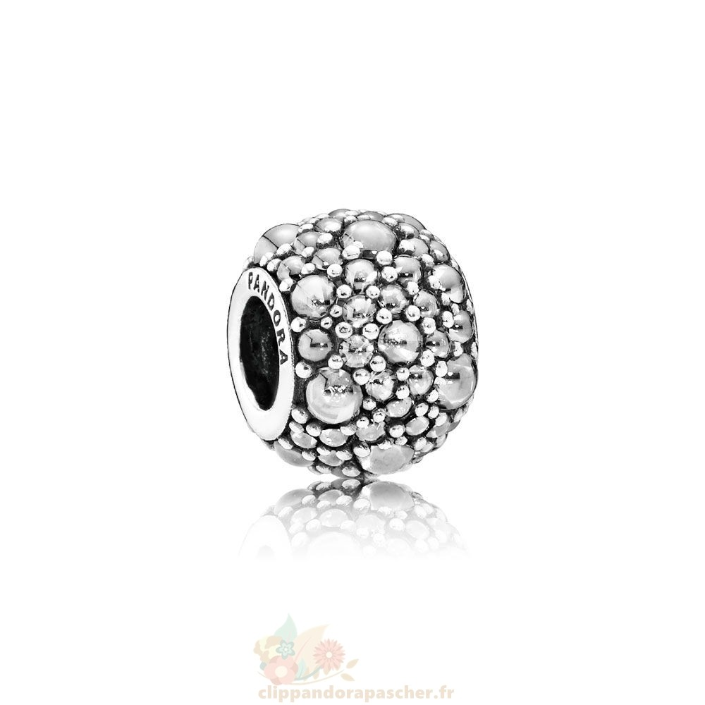 Discount Pandora Pandora Paillettes Paves Charms Shimmering Droplets Charm Clear Cz